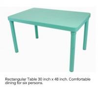 Model: COFTA RECTANGULAR TABLE