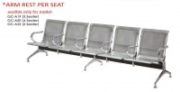 Model: GC-A19, GC-A20, GC-A25 WITH INDIVIDUAL ARMREST