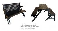 Model: FUNCTIONAL METAL BENCH