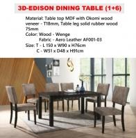 Model: 3D-EDISON  (6's)