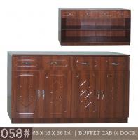 Model: 058# 4-DOOR