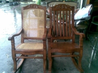 Model: Wooden Rocking Chair