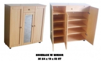 Model: Shoe cabinet with mirror
