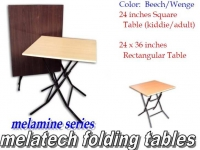 Model: Melatech folding table