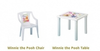 Model: Winnie the Pooh table and chair