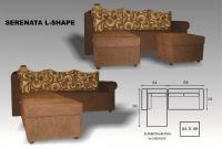 Model: Serenata L-shape