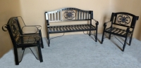 Model: Metal bench 311