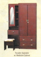 Model: Tocador Aparador with medicine cabinet