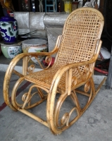 Model: Rocking chair rattan