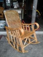 Model: Rocking chair rattan small