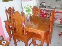 Model: Horsefeet dining set (4's & 6's)