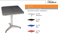 Model: JL-73 aluminum table sqaure