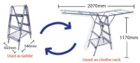 Model: Multi-Purpose Allum Hanger