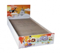 """Model: BD-01 bed frame with 1 night table  (36"""")"""