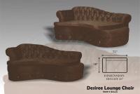 Model: DESIREE LOUNGE CHAIR